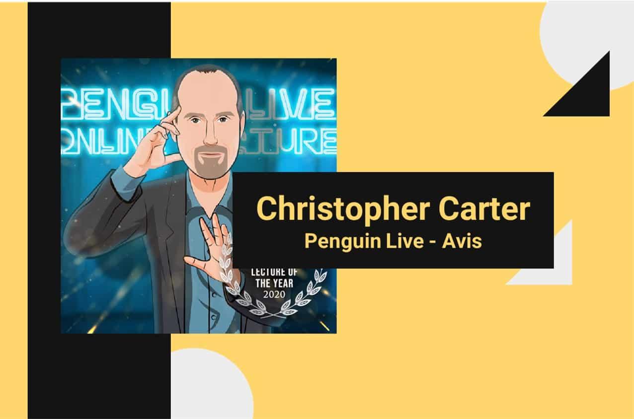 Christopher Carter - Penguin live - avis
