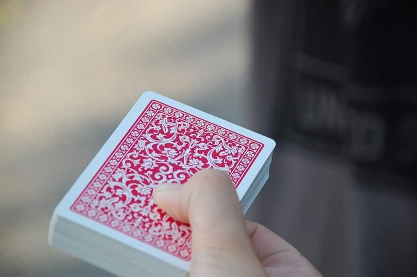 Tour de cartes sans préparation